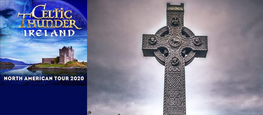 Celtic Thunder at Revention Music Center