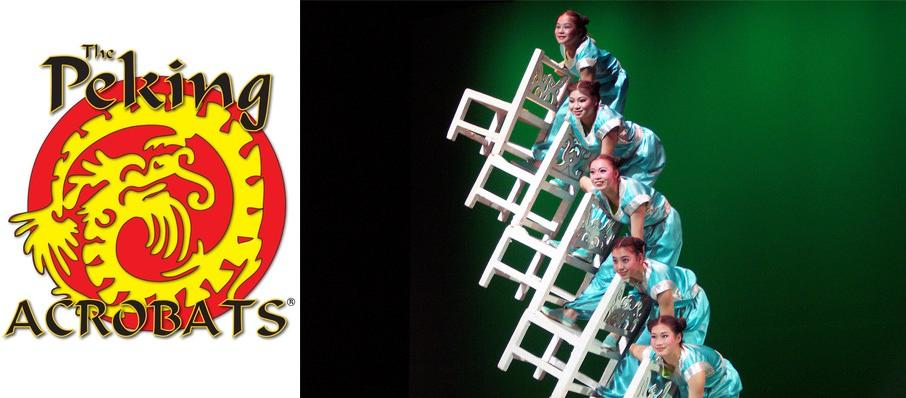 Peking Acrobats at Jones Hall for the Performing Arts