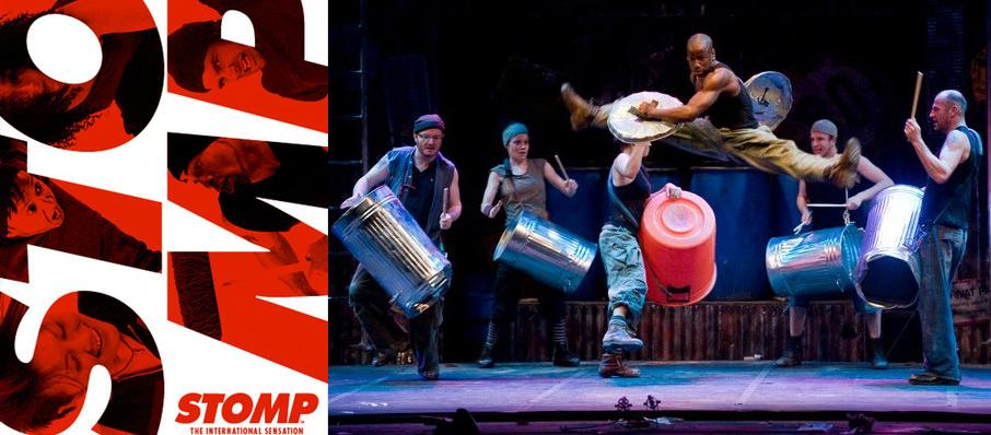 Stomp at Jones Hall for the Performing Arts