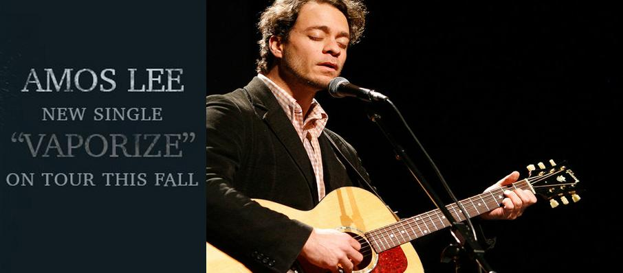 Amos Lee at Revention Music Center