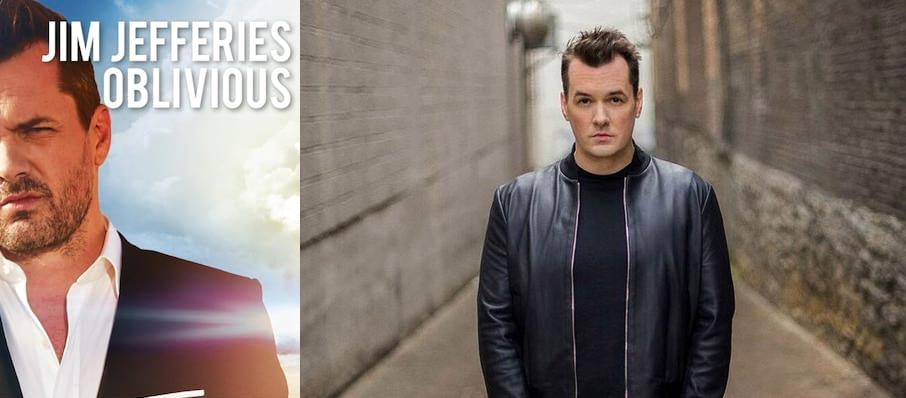 Jim Jefferies at Cullen Theater
