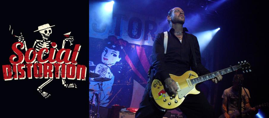 Social Distortion at White Oak Music Hall