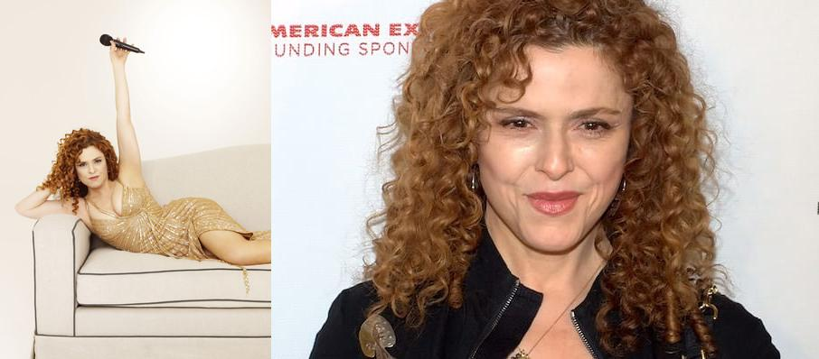 Bernadette Peters at Jones Hall for the Performing Arts