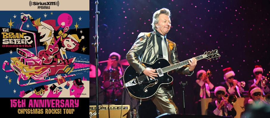Brian Setzer Orchestra: Christmas Rocks at Jones Hall for the Performing Arts