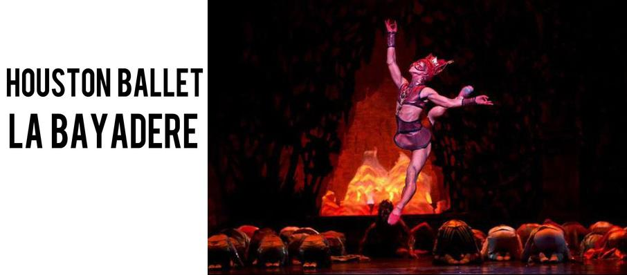 Houston Ballet: La Bayadere at Brown Theater