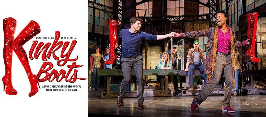 Kinky Boots at Jones Hall for the Performing Arts