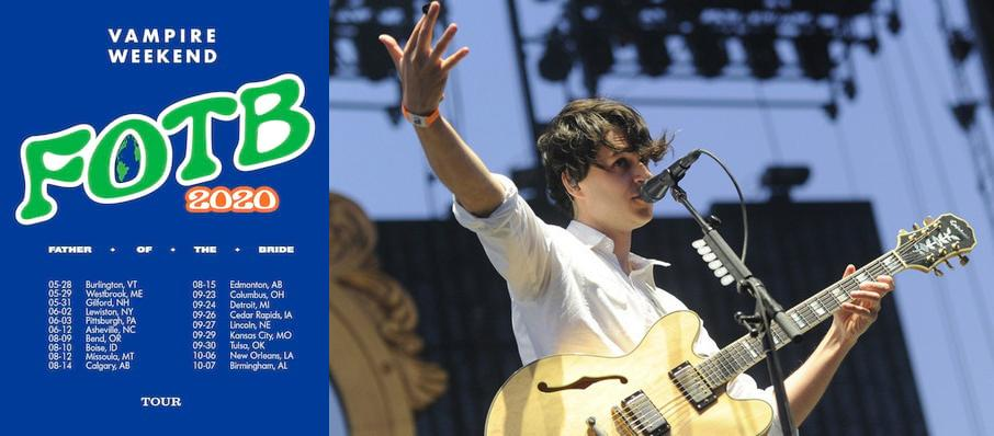Vampire Weekend at White Oak Music Hall