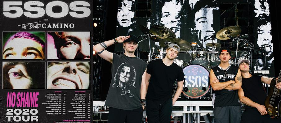 5 Seconds of Summer at Cynthia Woods Mitchell Pavilion