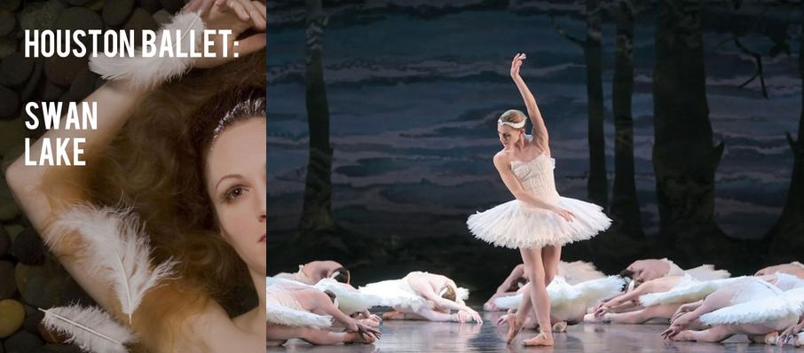 Houston Ballet - Swan Lake at Jones Hall for the Performing Arts