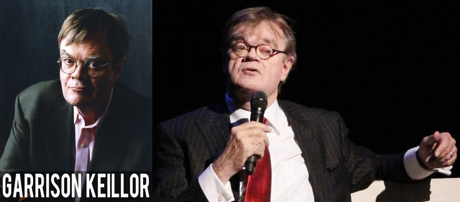 Garrison Keillor at Jones Hall for the Performing Arts