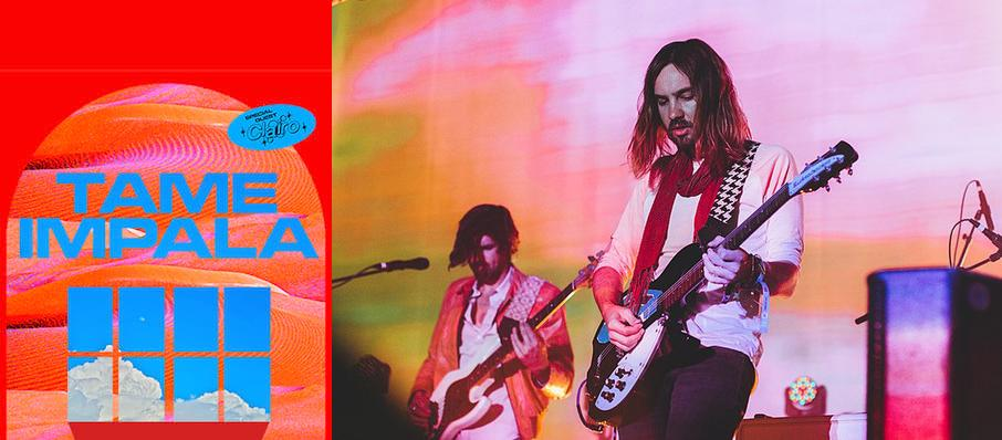 Tame Impala at White Oak Music Hall