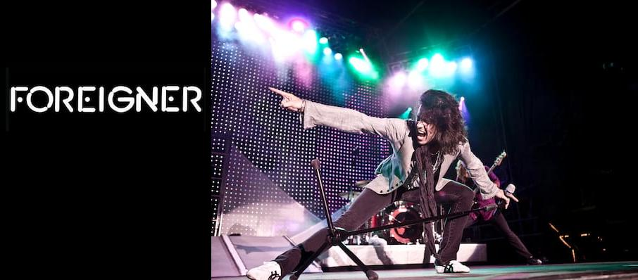Foreigner at Cynthia Woods Mitchell Pavilion