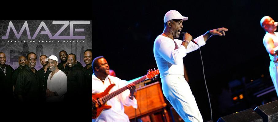 Maze and Frankie Beverly at Smart Financial Center
