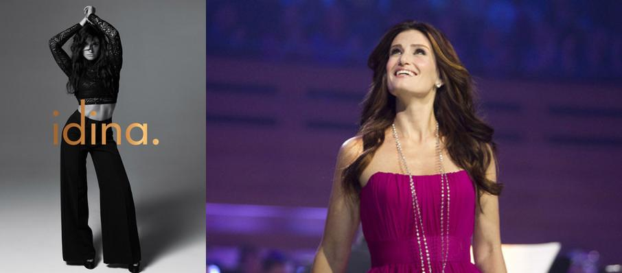 Idina Menzel at Smart Financial Center
