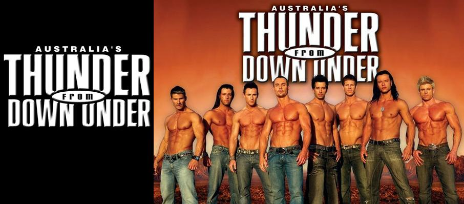 Thunder From Down Under at House of Blues