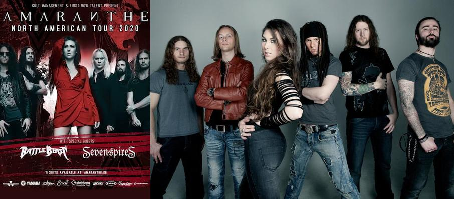 Amaranthe at Scout Bar