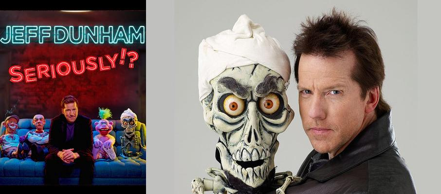 Jeff Dunham at NRG Arena