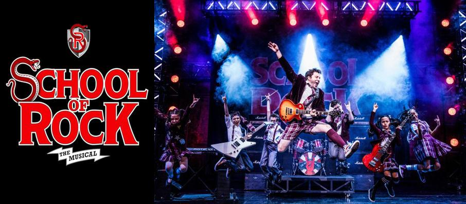 School of Rock at Sarofim Hall