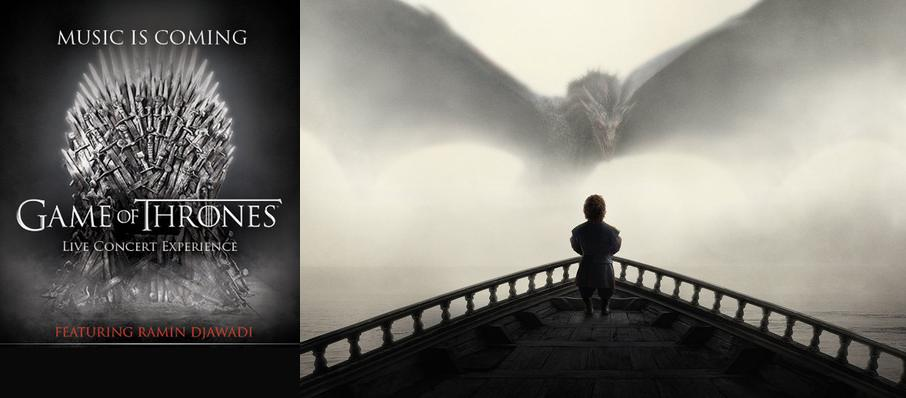 Game of Thrones Live Concert Experience: Ramin Djawadi at Cynthia Woods Mitchell Pavilion