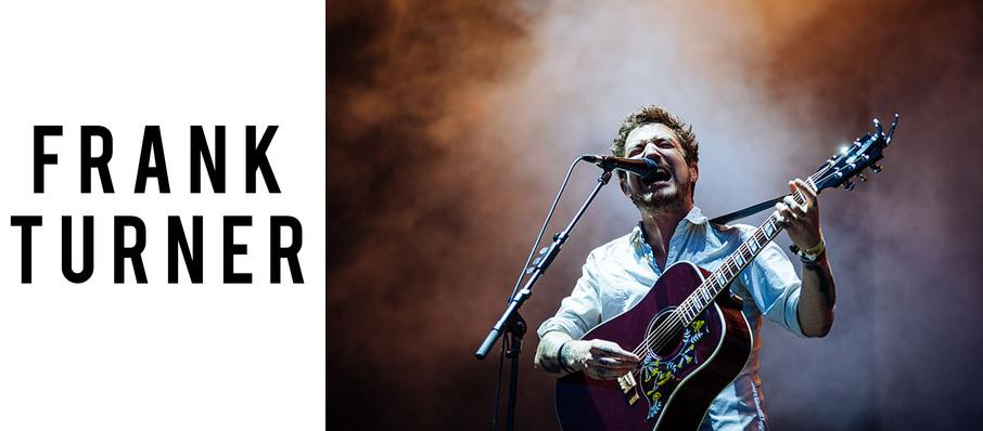 Frank Turner at White Oak Music Hall