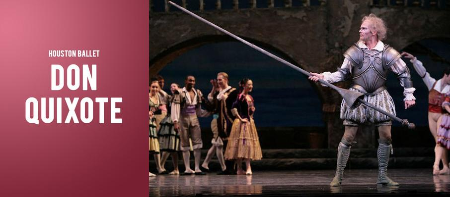 Houston Ballet - Don Quixote at Brown Theater