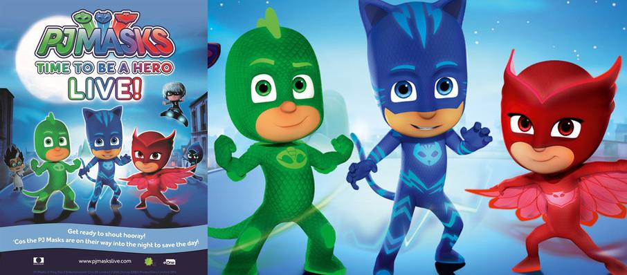 PJ Masks Live! Time To Be A Hero at Smart Financial Center