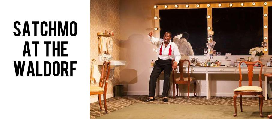 Satchmo at the Waldorf at Hubbard Stage - Alley Theatre
