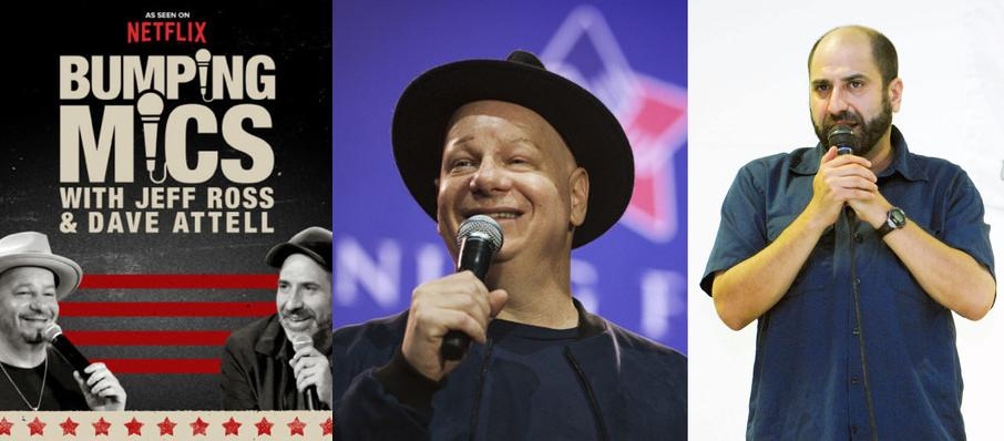 Jeff Ross and Dave Attell at Revention Music Center