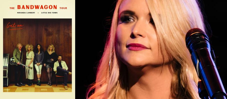 Miranda Lambert with Little Big Town at Cynthia Woods Mitchell Pavilion