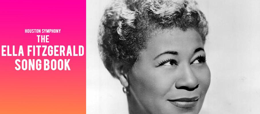 Houston Symphony - The Ella Fitzgerald Songbook at Jones Hall for the Performing Arts
