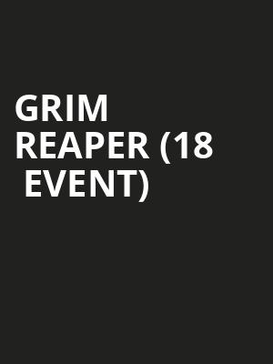 Grim Reaper (18+ Event) at Scout Bar