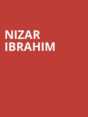 Nizar Ibrahim at Jones Hall for the Performing Arts