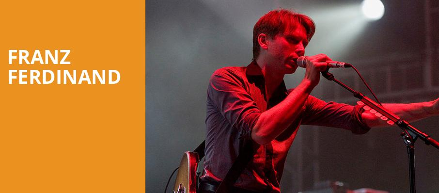 Franz Ferdinand, White Oak Music Hall, Houston