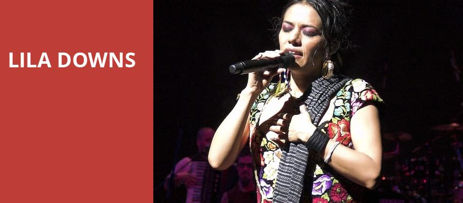 Lila Downs, Jones Hall for the Performing Arts, Houston