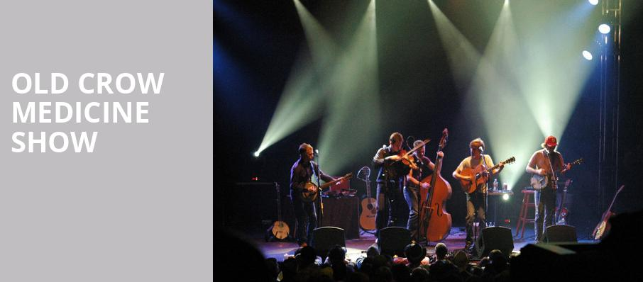 Old Crow Medicine Show, Cullen Performance Hall, Houston