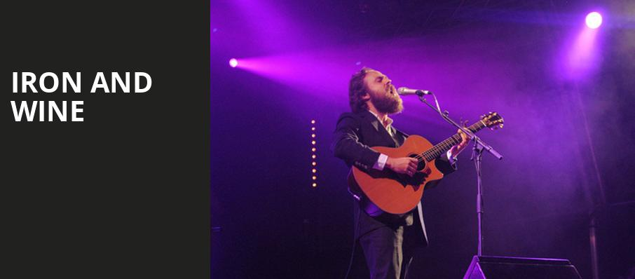 Iron and Wine, The Heights, Houston