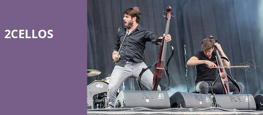 2Cellos, Jones Hall for the Performing Arts, Houston