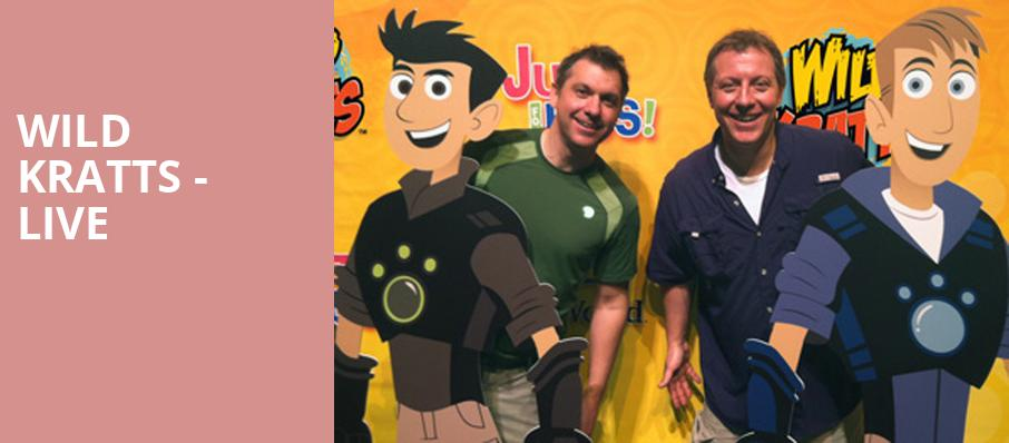 Wild Kratts Live, Sarofim Hall, Houston