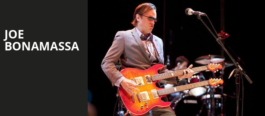 Joe Bonamassa, Smart Financial Center, Houston