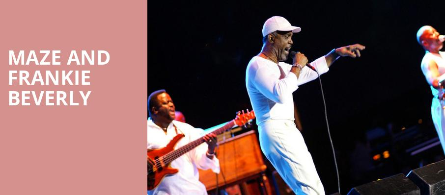 Maze and Frankie Beverly, Smart Financial Center, Houston