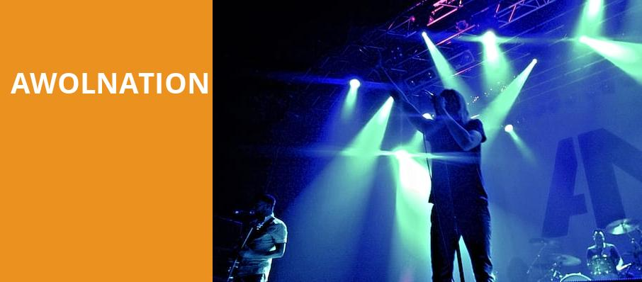 Awolnation, Revention Music Center, Houston