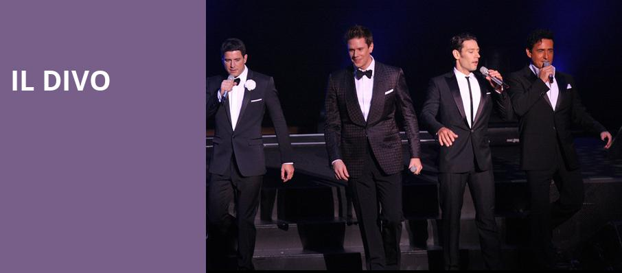 Il Divo, Smart Financial Center, Houston