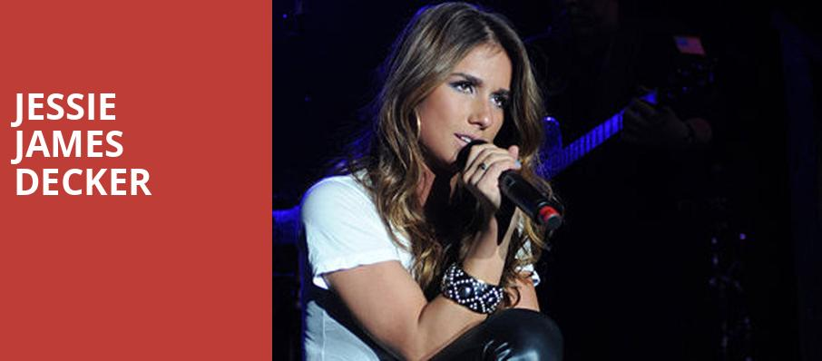 Jessie James Decker, House of Blues, Houston