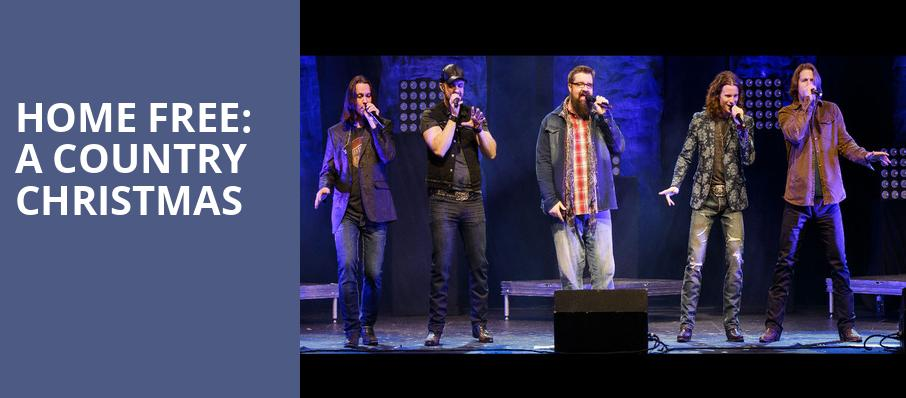 Home Free A Country Christmas, Cullen Performance Hall, Houston