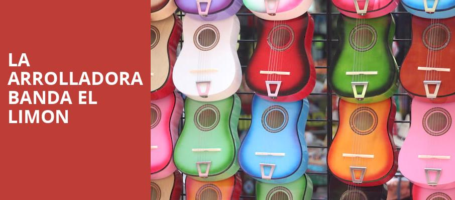 LA Arrolladora Banda El Limon, Revention Music Center, Houston
