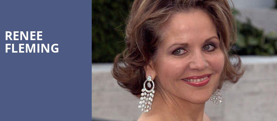 Renee Fleming, Jones Hall for the Performing Arts, Houston