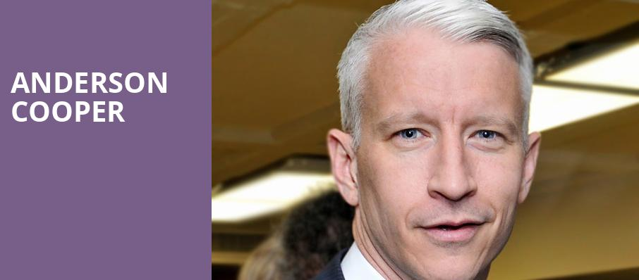 Anderson Cooper, Smart Financial Center, Houston