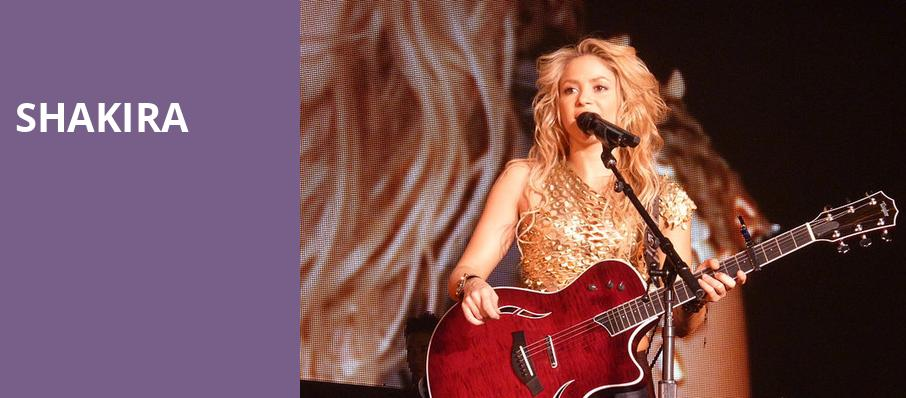 Shakira, Toyota Center, Houston