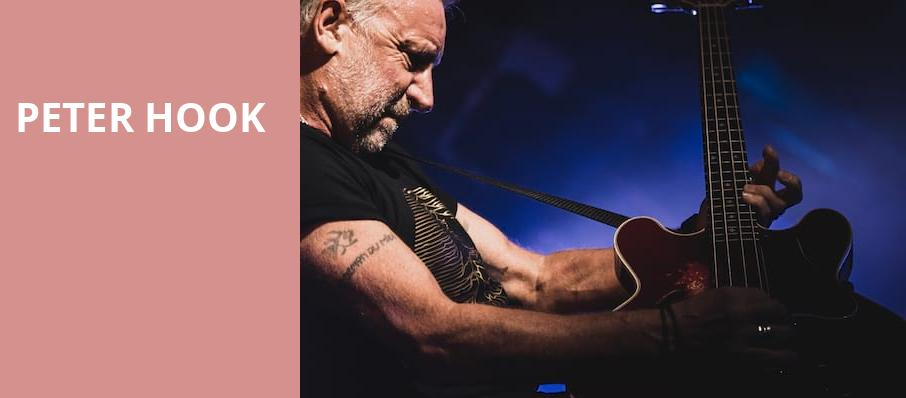 Peter Hook, Ballroom at Warehouse Live, Houston