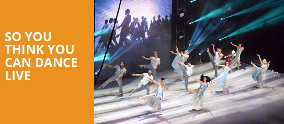 So You Think You Can Dance Live, Smart Financial Center, Houston